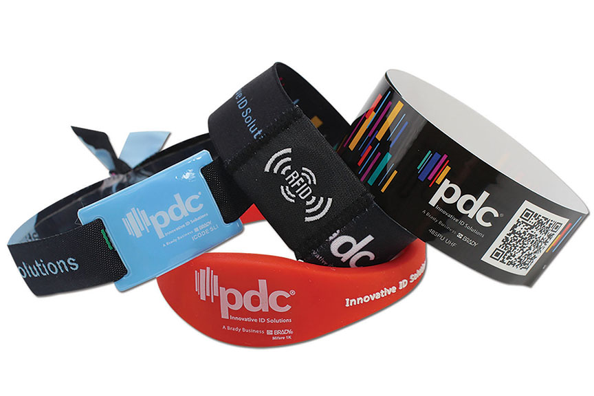 PDC Smart RFID Wristbands