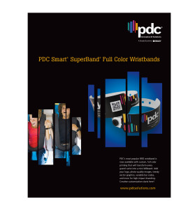 PDC Smart Full-Color SuperBand Wristbands Brochure