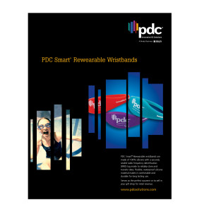 PDC Smart Rewearable Wristbands Brochure