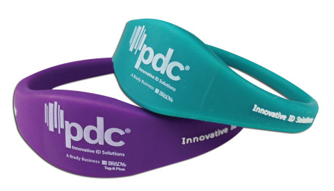 PDC Smart Contoured Rewearable Wristbands Group