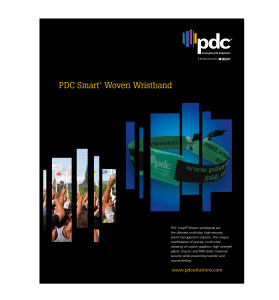 PDC Smart Woven Wristbands Brochure